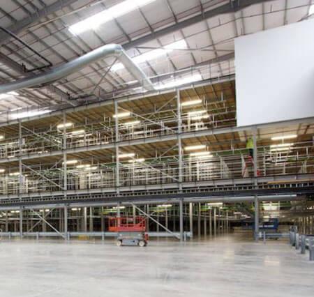 production mezzanine flooring solutions