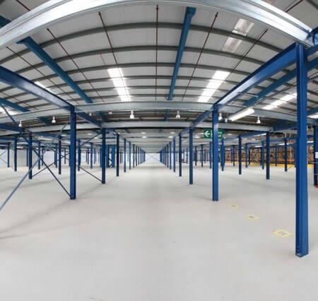 warehouse mezzanine flooring installations